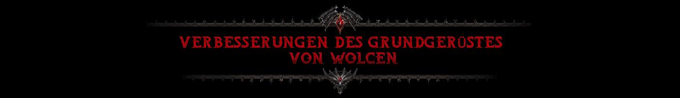 Verbesserungen des Grundgerüstes von Wolcen